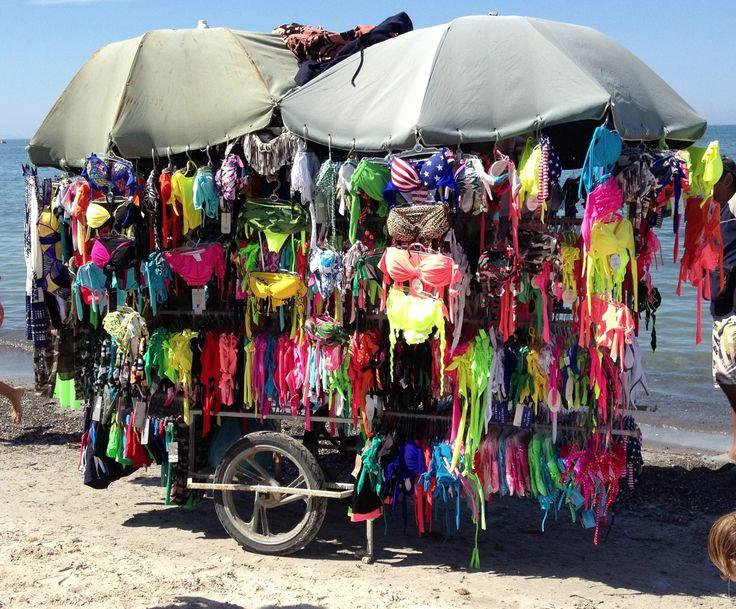 Bikini shop on the Beach