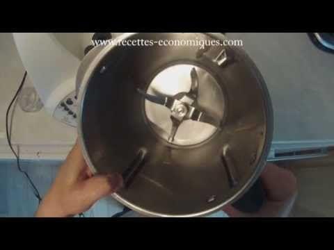 Nettoyer le bol de son thermomix pour qu'il redevienne comme neuf - YouTube