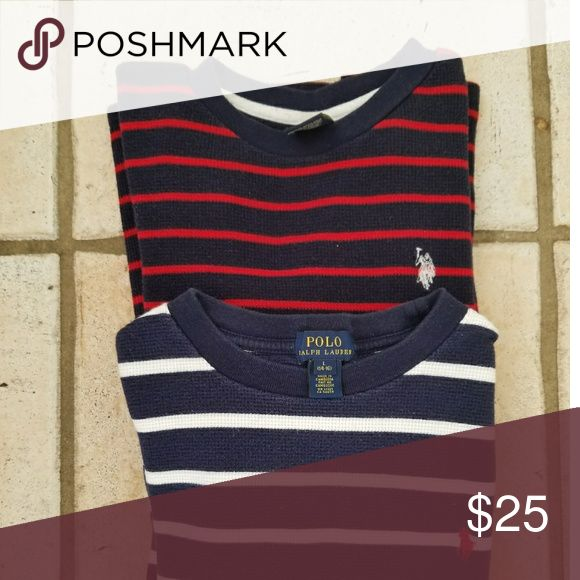 POLO RALF LAUREN T-Shirts (Boy) BOUNDLE POLO BOUNDLE  14-16 BOYS GENTLY USED... SIZE RUN ONE SIZE SMALLER. Polo by Ralph Lauren Shirts & Tops Tees - Long Sleeve