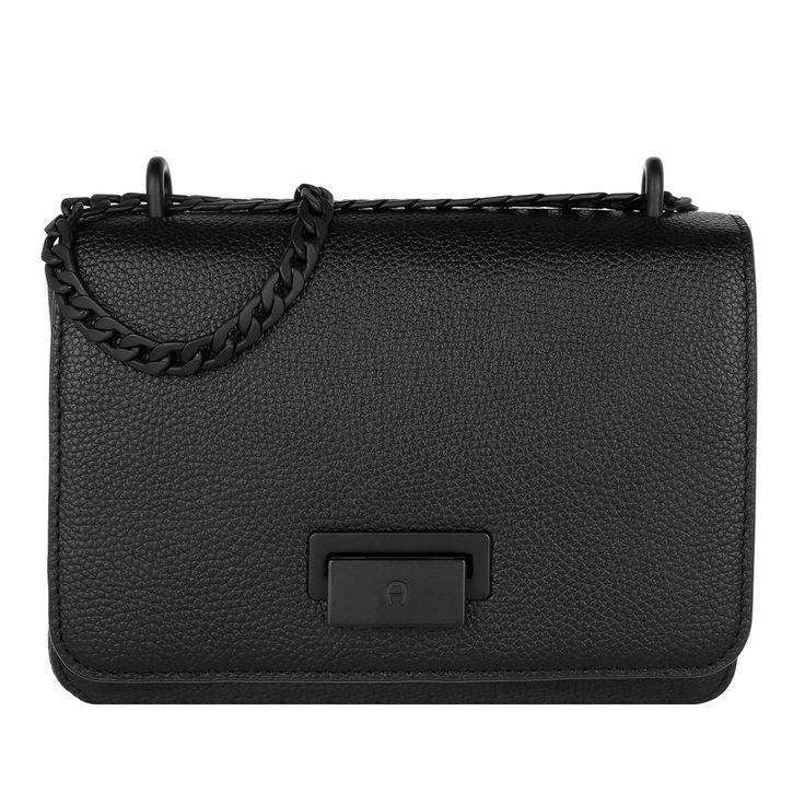 Handtasche, Aigner, Lucy Mini Shoulder Bag Onyx