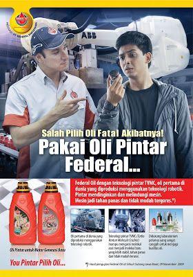 Jatmika: Iklan Federal Oil