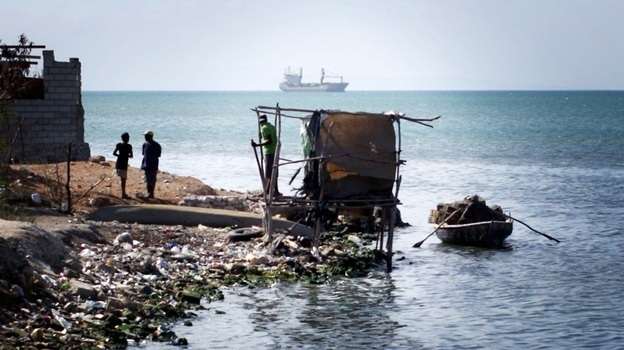 Story about sanitation problems in Haiti