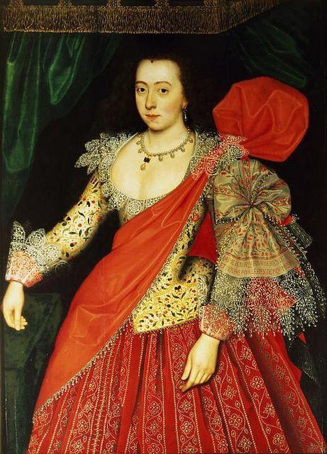 Lettice Knollys, Daughter of Henry Knollys, Grand Daughter of Catherine Carey, Great-Grand Daughter of Mary Boleyn.