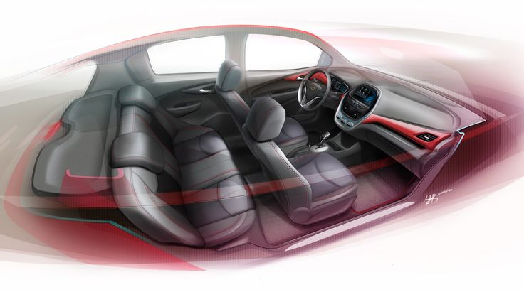 Next Generation Spark Interior Concept 01