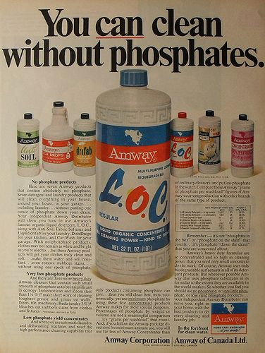 1970 AMWAY vintage advertisement detergent cleaning products by Christian Montone, via Flickr