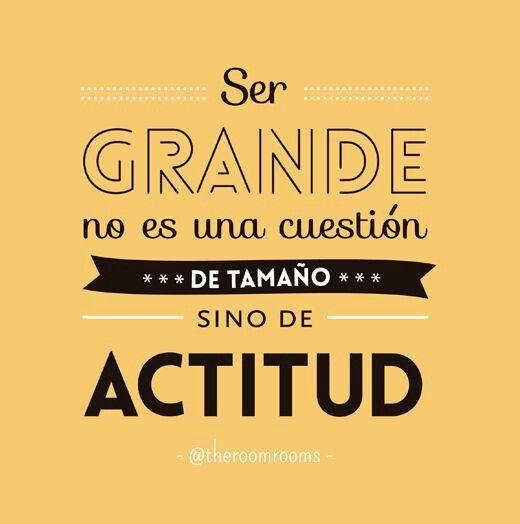 #actitud