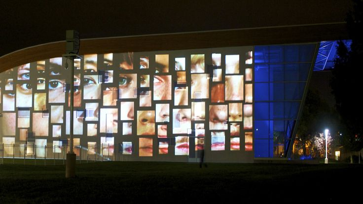 Flicker Art Media (Aleksandra Dulic & Kenneth Newby), Transience (2010), installation image. Courtesy of the artists, photographed by Sharon...