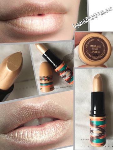 The Lipstick Database: MAC - Frost lipstick in Tanarama                                                                                                                                                     More