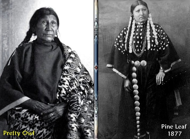 Red Cloud was in love with two women who reciprocated his affection. Pine Leaf and Pretty Owl. Wanting to marry both, he forgot to tell Pine Leaf that he was going to marry Pretty Owl first. After the ceremony was over, the next morning he decided to go to the hills to retrieve his horses. Leaving his lodge he went to pass by a tree. He suddenly stopped in his tracks. In the mist of the morning with a rope around her neck, Pine Leaf hung from a branch. Pine Leaf had taken her own life.