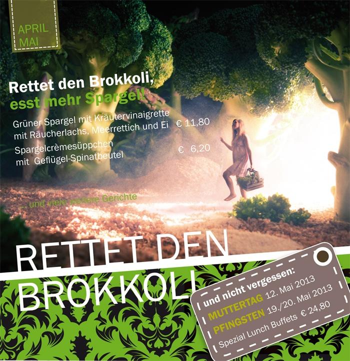 Rettet den Brokkoli, esst mehr Spargel.  Spargelwochen im Vulcano Restaurant in Wittlich. #restaurant, #essen, #eifel, #wittlich, #mosel,