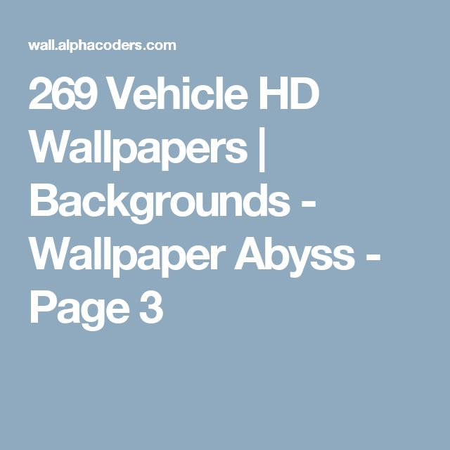 269 Vehicle HD Wallpapers | Backgrounds - Wallpaper Abyss - Page 3
