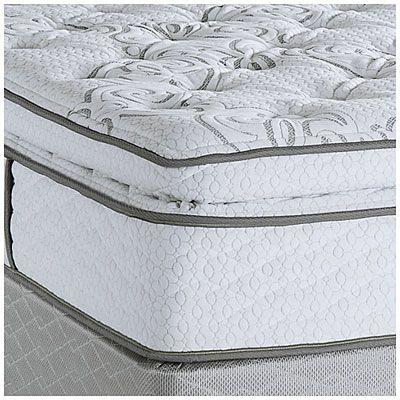 Serta® Perfect Sleeper® Harmon Super Pillow Top King Mattress & Box Spring Set at Big Lots.