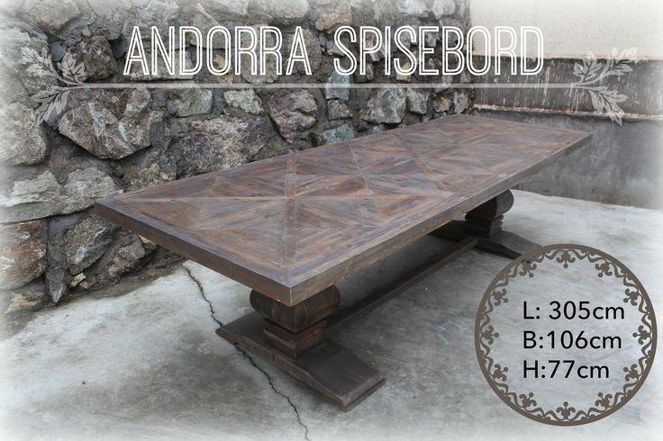 Andorra Spisebord