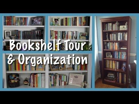 ▶ Bookshelf Organization & Tour - YouTube