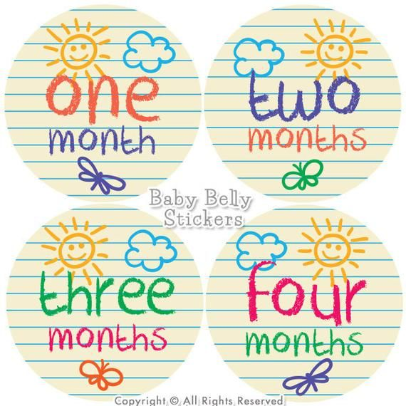 Baby Month Stickers Monthly Baby Stickers Bodysuit Stickers Monthly Milestone Stickers Baby Monthly Stickers Baby Belly Stickers Baby Month Stickers Baby Month By Month