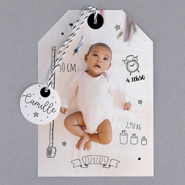 Faire-part de naissance - B24-041