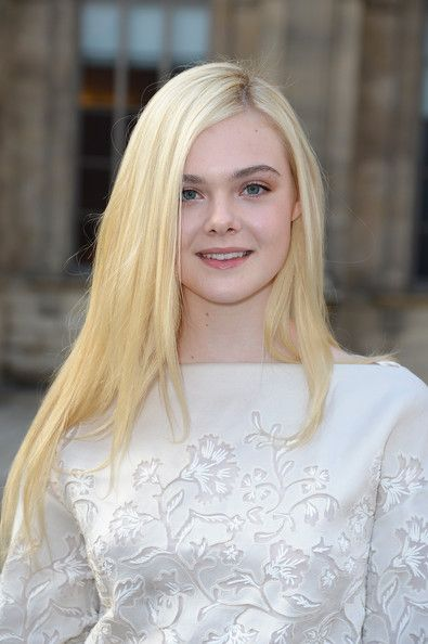 Elle Fanning Layered Cut - Long Hairstyles Lookbook - StyleBistro