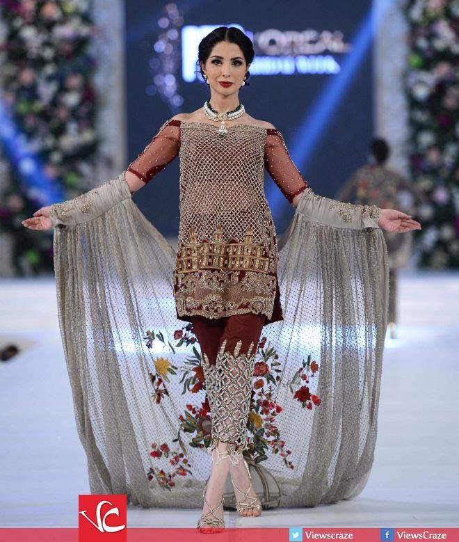 Mahgul's Collection at PFDC L'Oréal Paris Bridal Week 2015 Day 2