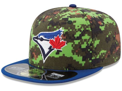 new era camo hat // toronto blue jays
