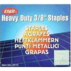 Tűzőkapocs 23/13 1000 darab Eagle 2313 - Tűzőgépkapocs Ft Ár 219 Ft Ár Tűzőkapocs - Tűzőgépkapocs - Fűzőkapocs