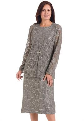 Sequined lace jacket dress | Plus Size Special Occasion ... - photo #30