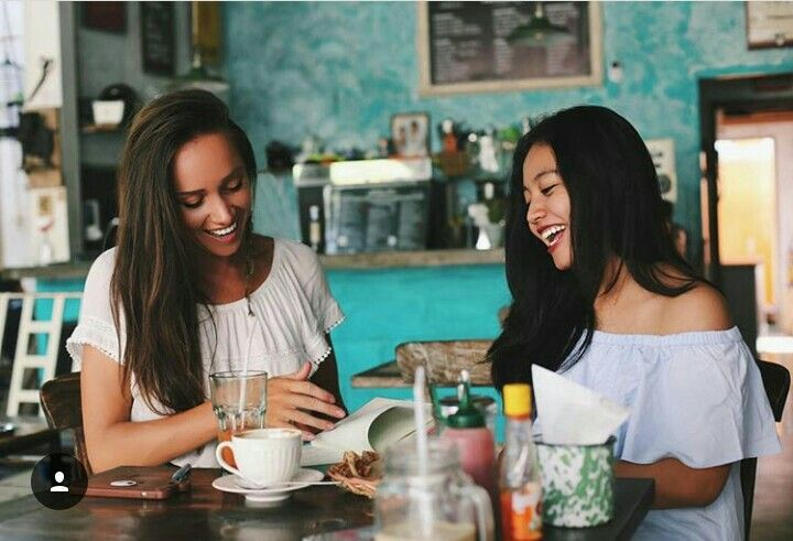 Much better have real conversation with real smile and drink a cup of coffee. Kafein Bali