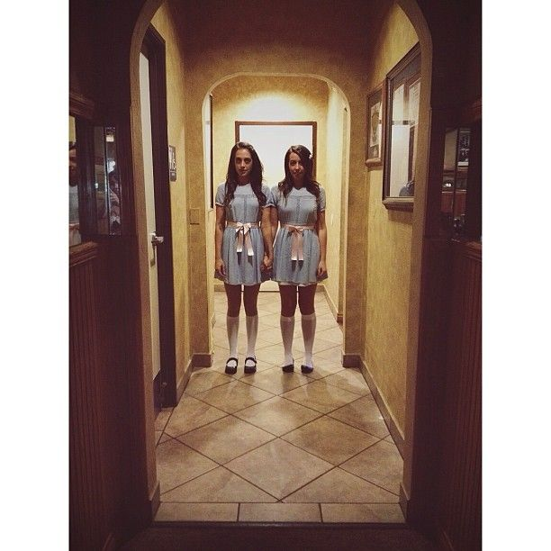 Pin for Later: 117 Ingenious DIY Costumes From Your Favorite TV Shows and Movies The Grady Twins