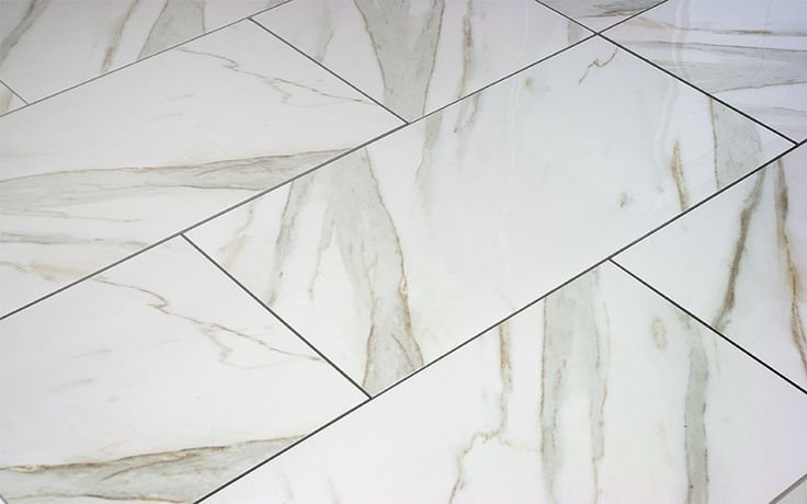 Calacatta Polished Porcelain Tile 12x24 Discounted In 2019