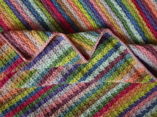 Attic24 Hydrangea Stripe Blanket