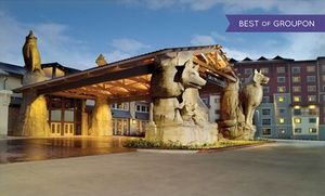 Groupon - Stay with Daily Water Park Passes, Breakfast, and Gift Credit at Great Wolf Lodge Grapevine in Texas. Dates into April. in Grapevine, TX. Groupon deal price: $149