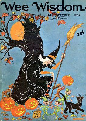 Vintage Halloween Magazine ~ Wee Wisdom ©October, 1964