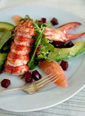 Lobster and Avocado Salad ♥