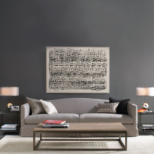 Except Maybe The Couch Note Wall Color Find This Pin And More On Decor Inspiration Slate Gray