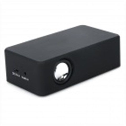 801 Universal 3.5mm Mini Portable Speaker - Black
