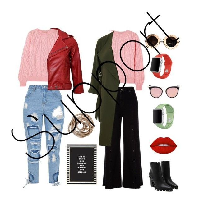 Support by amandalowenborg on Polyvore featuring polyvore, fashion, style, Emilia Wickstead, River Island, Apple, Gucci, Stephane + Christian, Lime Crime, Kate Spade and clothing