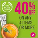 The Body Shop Offers Up to 40% Off Sitewide! Ends August 25th!