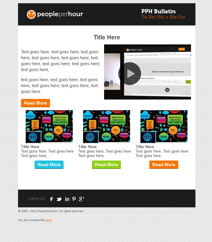 221 best Email Tips and Tricks images on Pinterest Creative - marketing email template