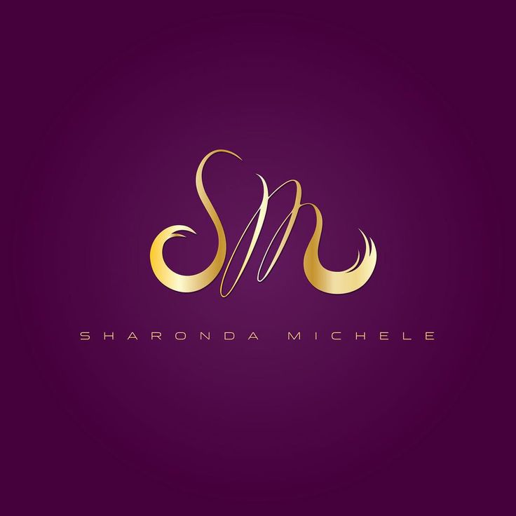 "51 Likes, 9 Comments - Simply Creative Designing (@simplycreativedesigning) on Instagram: ""Custom Logo Design for a very special hair stylist, Sharonda Michele! Design by…"""