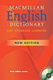 Macmillan English Dictionary for Advanced Learners Macmillan English Dictionary for Advanced Learners (Macmillan Elt) posted with カエレバ Michael Rundell MacMillan/A. & C. Black 2006-06-30 Amazon 楽天市場 The second edition of the Macmillan English Dictionary contains a wealth of new material, while building on the innovative features that won it two prestigious awards. The most frequently used 7,500 words in English - the ideal vocabulary size for an advanced learner - are printed in red, ...