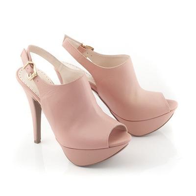 Chaniotakis   High heel in Pink Leather