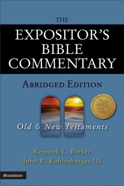 The 25 best bible commentary ideas on pinterest my bible bible expositors bible commentary abridged edition by kenneth barker and john r fandeluxe Gallery