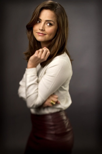 Jenna-Louise Coleman - Clara in Dr Who. She is so gorgeous and I want to be her