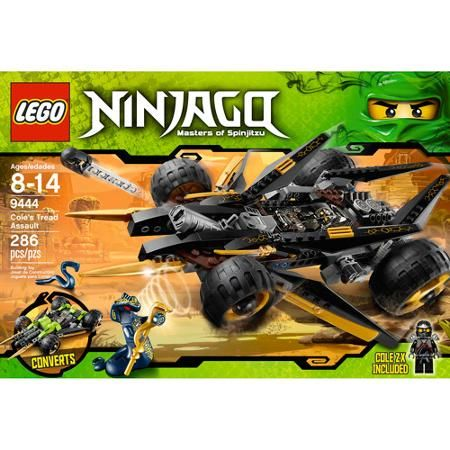 LEGO Ninjago Cole's Tread Assault Set #9444