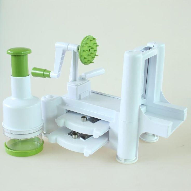 Spiralizer Tri-Blade Vegetable Fruit Spiral Potato Cutter +Onion Chopper