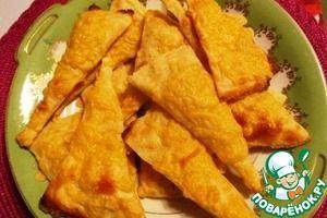 Картофельное слоеное печенье