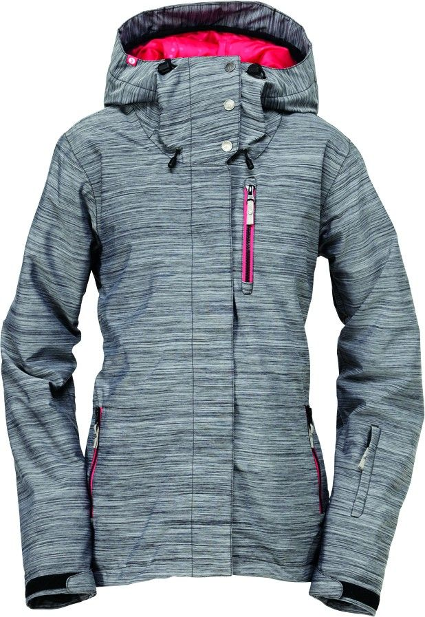 Roxy Meridian Jacket Grey