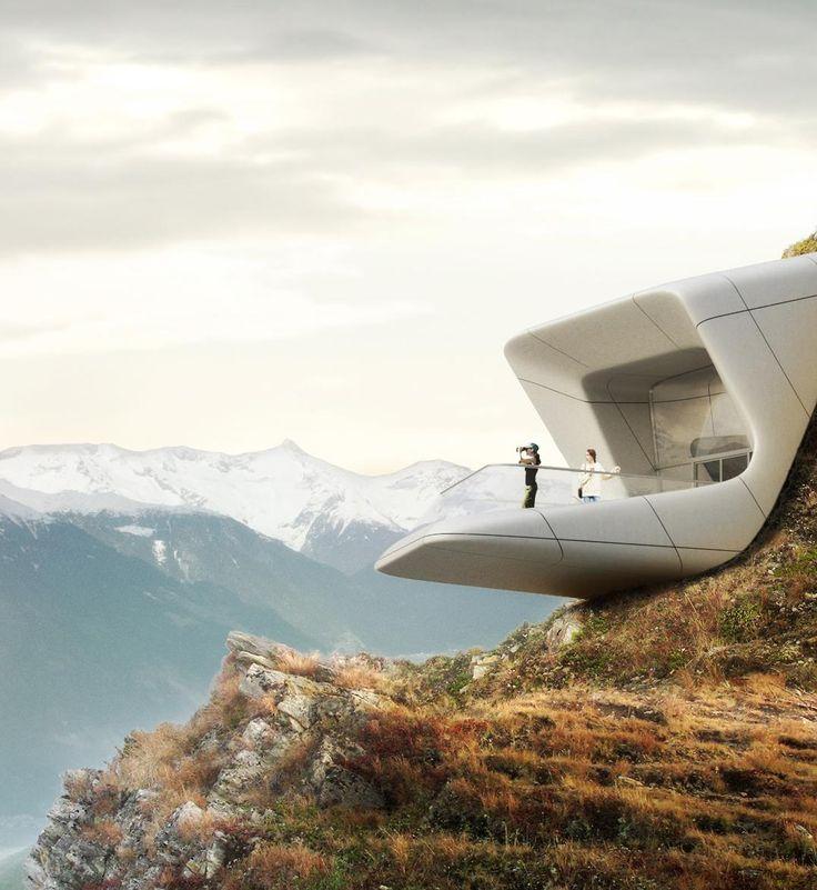 Messner Mountain Museum Corones (MMM Corones), Italy by Zaha Hadid Architects