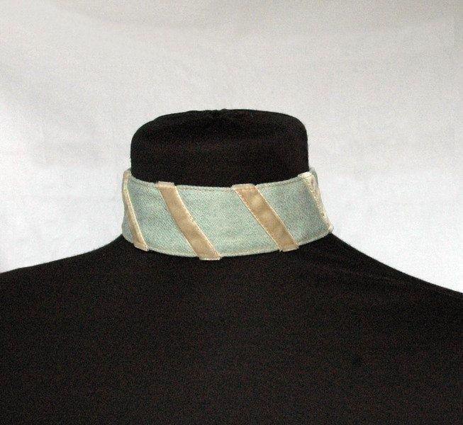 halsband etsy moderne kleidung halsband wildleder