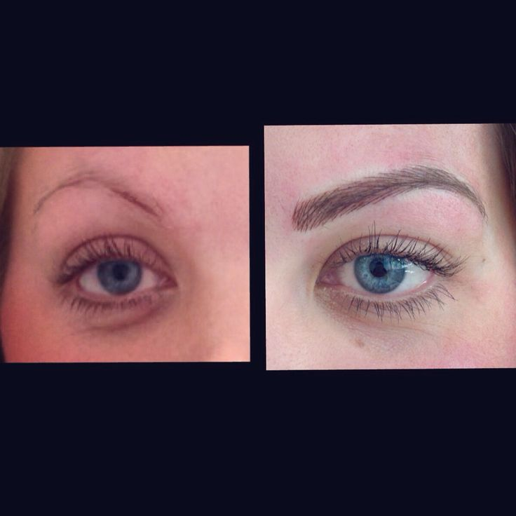 Semi permanent eyebrow tattoo kent