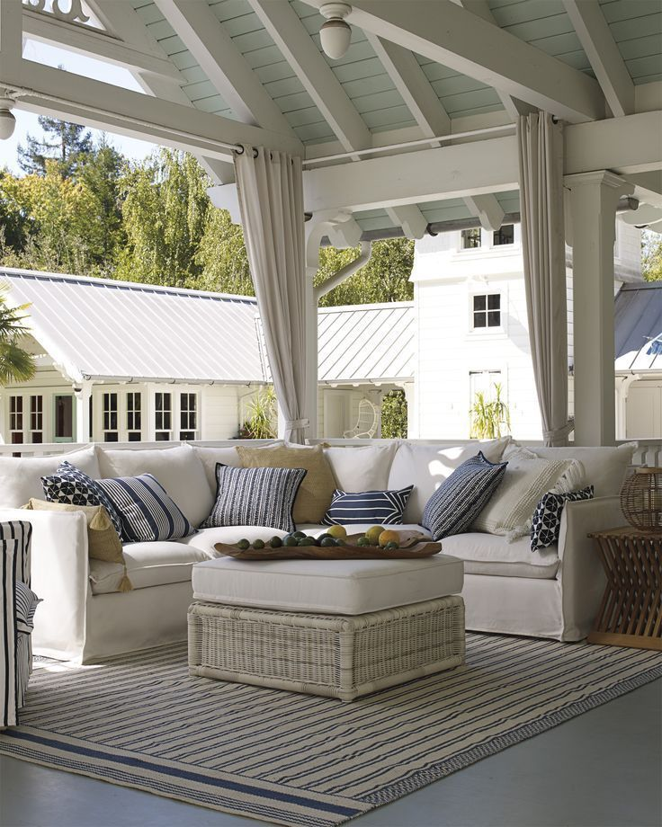 Portsmouth Outdoor Pillow Cover Outdoor Seating Areas Patio
